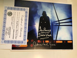 Star Wars Darth Vader David Prowse /James Earl Jones autographs with COA