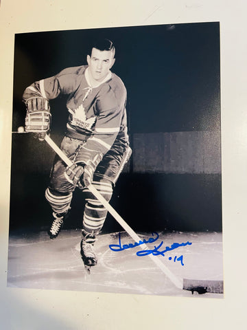 Toronto Maple Leafs Hockey rare Dave Keon signed 8x10 photo with COA