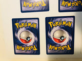 Pokémon rare 5 card movie set 1999