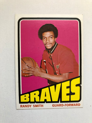 1972 Topps Randy Smith high grade basketball rookie card
