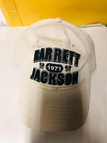 Barrett Jackson collectible cars hat