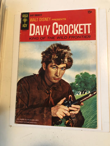 Walt Disney Gold Key Davy Crockett comic book 1955