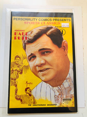 Babe Ruth baseball comic book 1990s