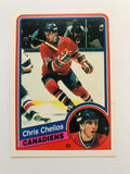 Chris Chelios opc high grade hockey rookie card