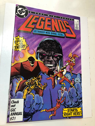 Legends 1 comic book high grade condition 1986
