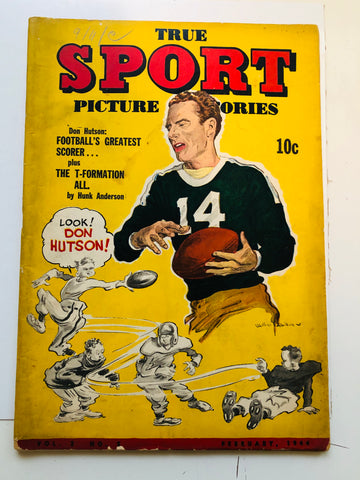 True Sports comic book 1944