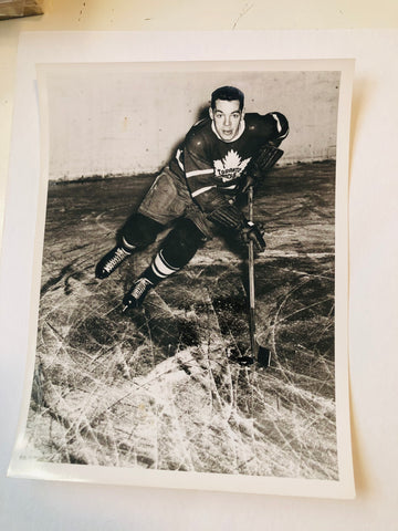 Howie Meeker hockey legend rare original Turofsky hockey photo 1940