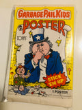 1986 Topps Garbage Pail Kids rare poster set with wrappers