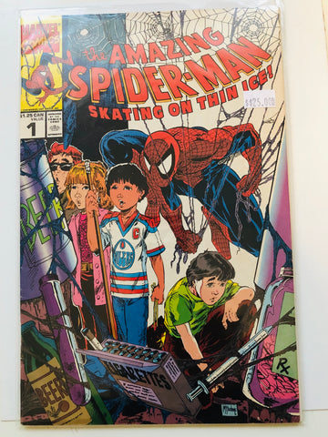 Amazing Spider-Man limited issue comic book