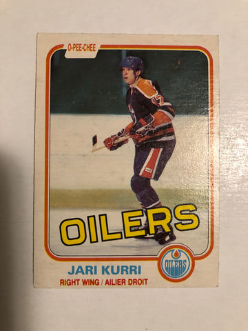 Jari Kurri OPC rookie NHL card