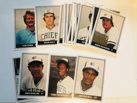 Toronto Blue Jays rare Syracuse chiefs team set 1982
