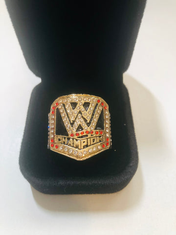 WWF wrestling replica ring with holder