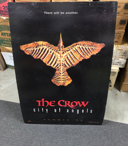 The Crow City of Angels movie cardboard poster