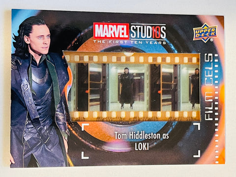 Loki Marvel movie rare film cel insert card