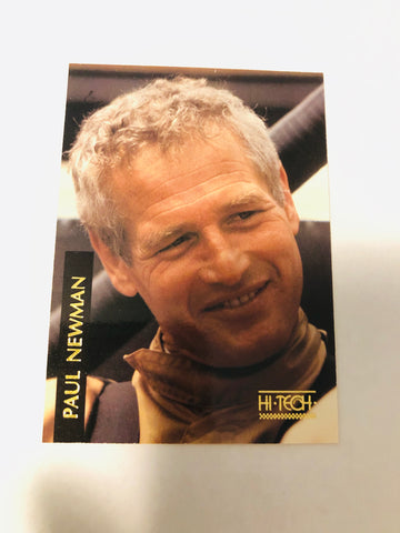 Paul Newman rare racing card promo 1990s