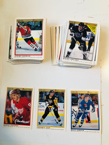 1990 opc Premiere hockey high grade cards set