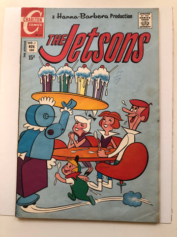 The Jetsons #1 comic book 1970