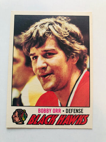 Bobby Orr opc hockey card 1977