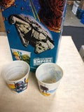 Star Wars Empire Strikes Back 100 count Dixie cups in box 1980s