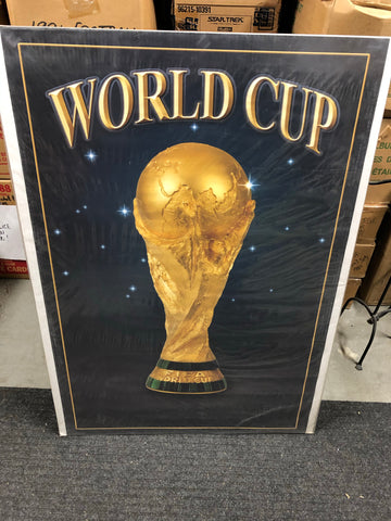 World Cup Soccer original vintage poster 2000