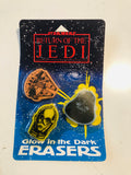 Star Wars Return of Jedi erasers set 1983