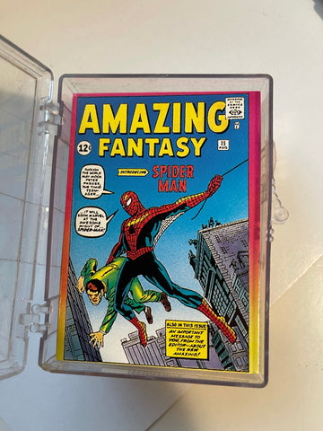 Spider-Man 2 20th anniversary cards set 1992