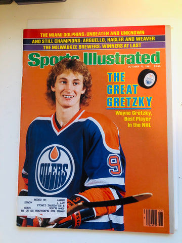 Wayne Gretzky Sports Illustrated magazine 1981