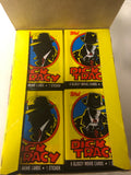 Dick Tracy movie Topps cards 36 packs box 1990
