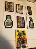 1992 opc Wacky Packages complete cards set with wrapper