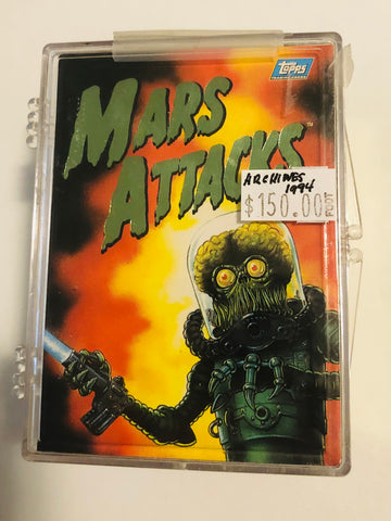 Mars Attacks Topps Archives cards set 1994