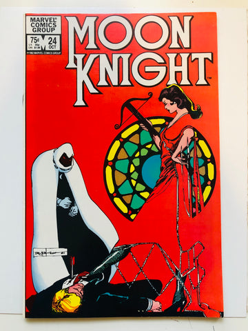 Moon Knight #24 high grade comic book