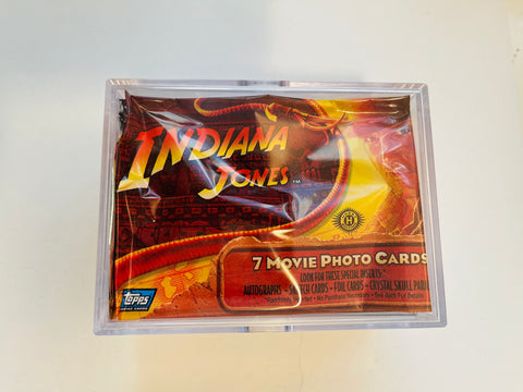 Indiana Jones kingdom of the Crystal Skull movie cards set 2008