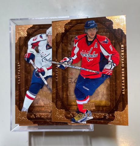 Upper Deck Artifacts high grade condition hockey cards base set 2008