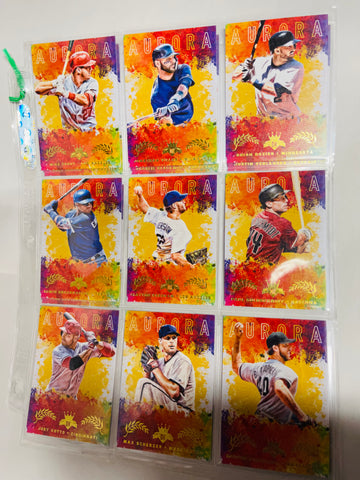 Diamond Kings Aurora insert baseball cards lot deal 2017