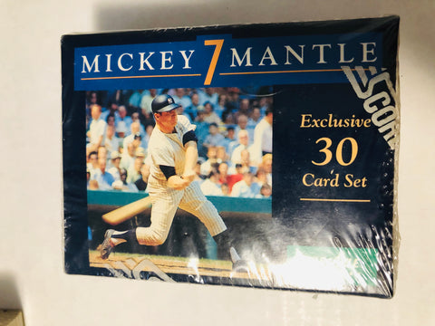 1990 Mickey Mantle baseball cards factory sealed set