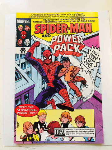 Spider-Man and Power Pack special issue comic book 1984