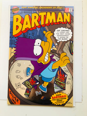 The Simpsons Bartman #1 high grade comic book