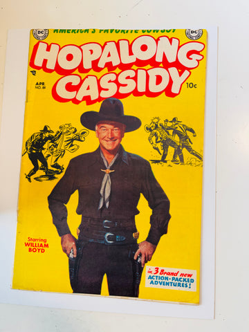 Hopalong Cassidy TV Westerns #88 vg condition comic 1954