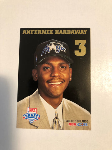Anfernee Hardaway rare rookie redemption basketball card