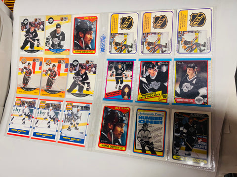 Wayne Gretzky 20 cards lot deal 1980s and 1990s