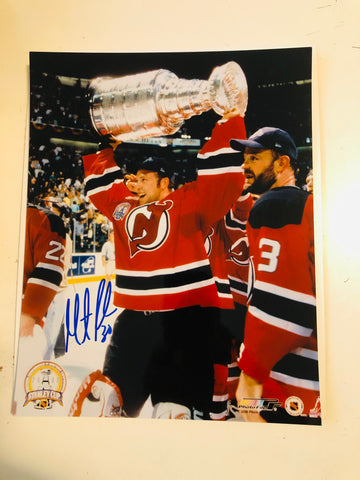 Martin Brodeur rare autograph 8x10 photo with COA