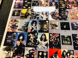 Kiss rock band rare uncut card sheet set 1997