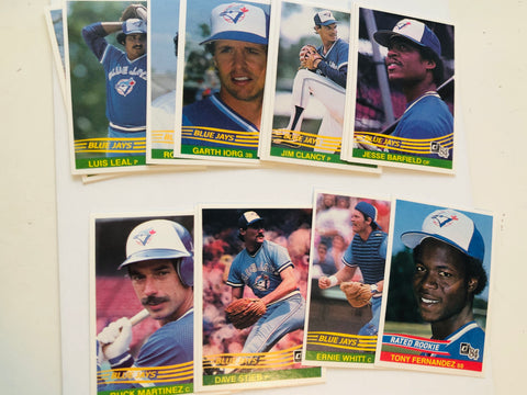 Toronto Blue Jays Donruss baseball team set 1994
