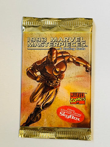 Marvel Masterpieces sealed cards pack 1993
