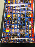 1979 Black Hole movie cards rare uncut sheet