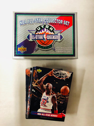 Michael Jordan and superstars NBA all star basketball cards set 1992