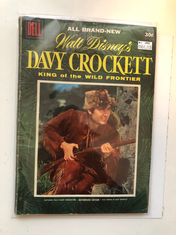 Walt Disney's Davy Crockett #1 comic book 1955