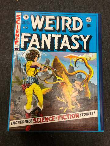 Weird Fantasy EC comics hard cover large 4 volumes set 1980