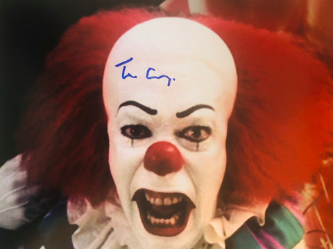 It movie rare Tim Curry signed photo with COA. Sale Price!