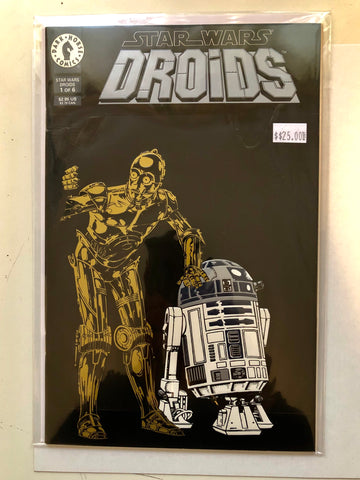 Star Wars Droids special issue comic book